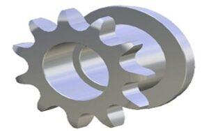 Piñón Metálico Z11 5/8″ Simple