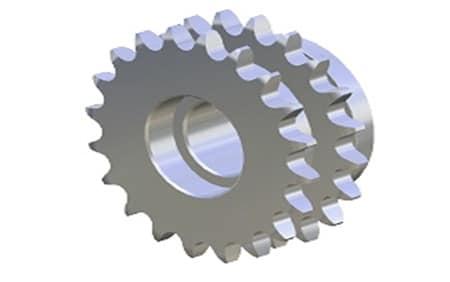 Piñón Metálico Z20 5/8″ Doble